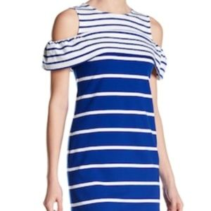 NWOT Vince Camuto Striped Dress Sz 6